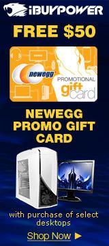 Free $50 Newegg Promo Gift Card