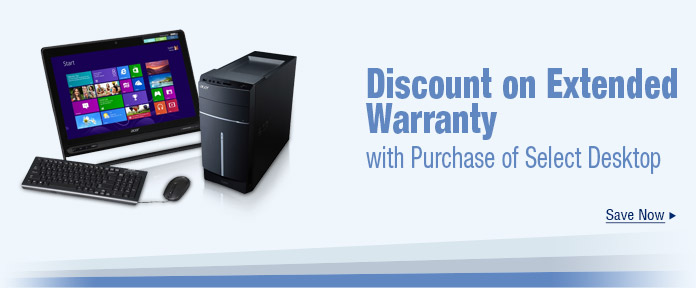 Discount on Extended Warranty
