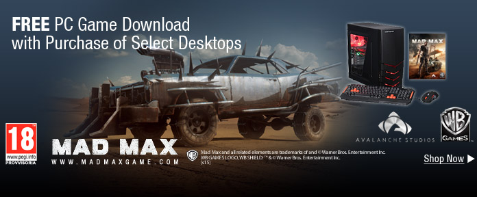 Free PC Game Download with Purchase Of Select Desktops