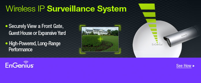 Wireless IP Surveillance System