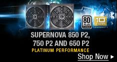SUPERNOVA 850 P2, 750 P2 AND 650 P2