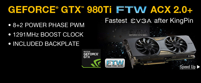 GeForce GTX 980 Ti FTW ACX 2.0+