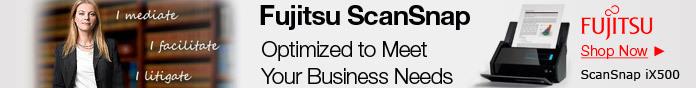 Fujitsu ScanSnap Scanners.