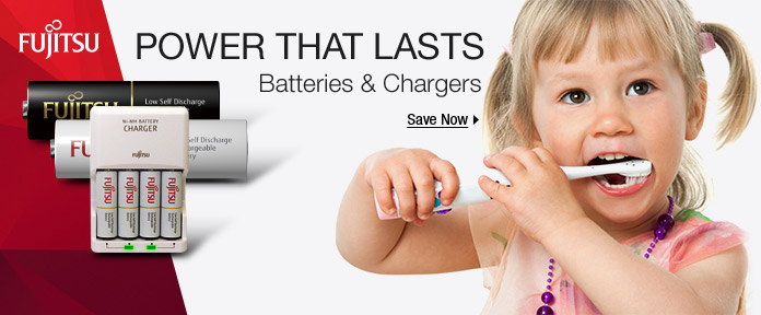 Power that lasts: batteries & chargers