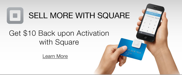 SELL MORE WITH SQUARE