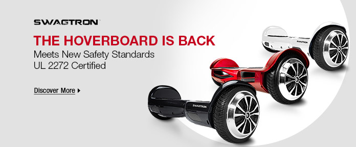The HOVERBOARD is back