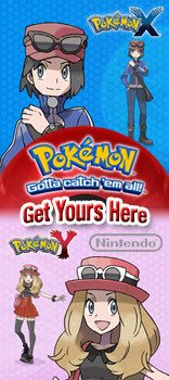 Pokemon X&Y, Gotta catch'em all! Get Yours Here