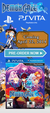 Demon Gaze Coming 4/22/14