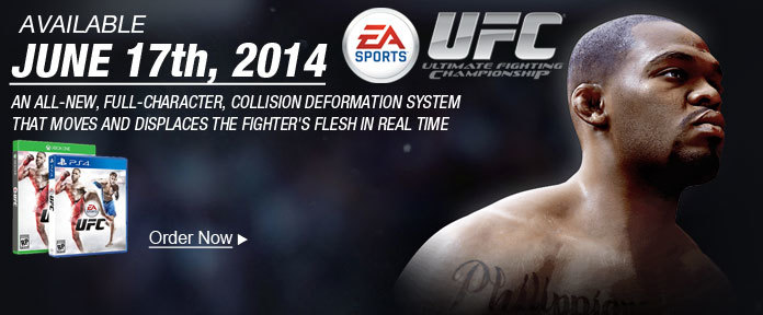 UFC Available June 17th, 2014