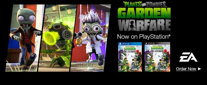Plants vs. Zombies: garden warfare for playstation