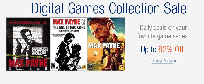 Digital Games Collection Sale
