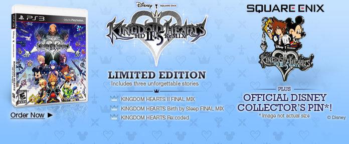 Kingdom Hearts 2.5 Limited Edition
