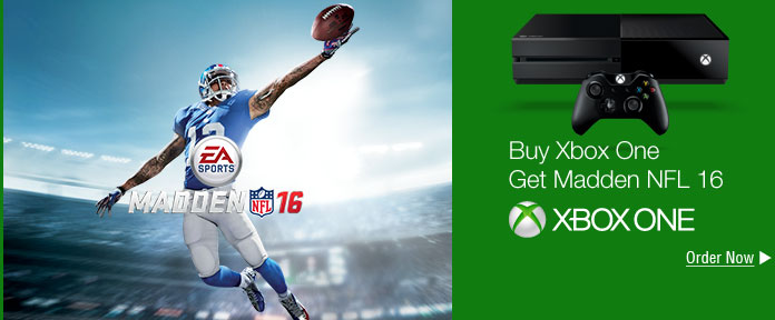 Buy Xbox One Get Madden NFL 16