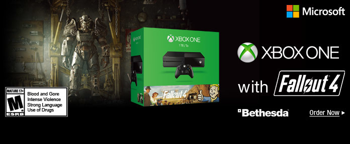 XBox One with Fallout 4
