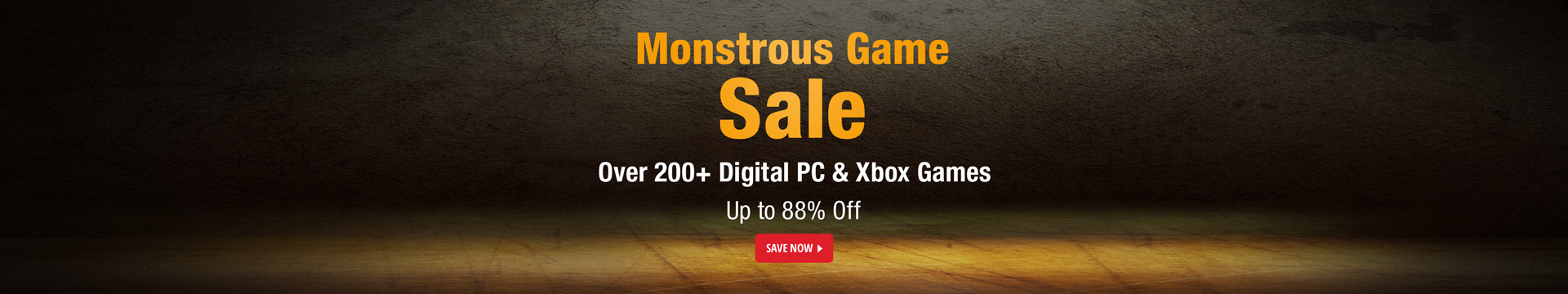 Monstrous Game Sale