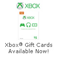 Xbox Gift Cards Available Now