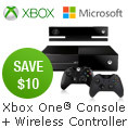 Save $10 on Any Xbox One Console and Wireless Controller Combo Below