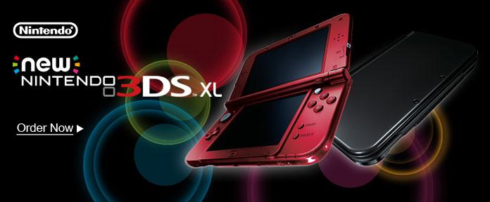 New 3DSXL