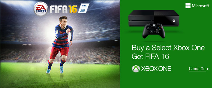 Buy a select Xbox One, Get FIFA 16