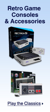Retro game consoles & accessories
