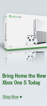 Bring home the new XBOX one S today