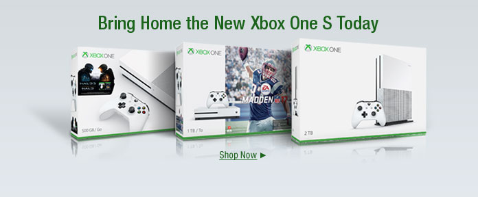 Bring home the new XBOX one today