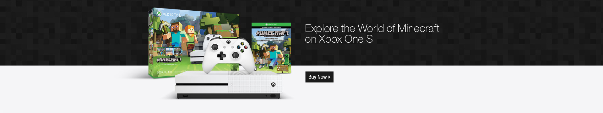 Explore the World of Minecraft on Xbox One S