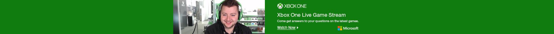 xbox one live game stream