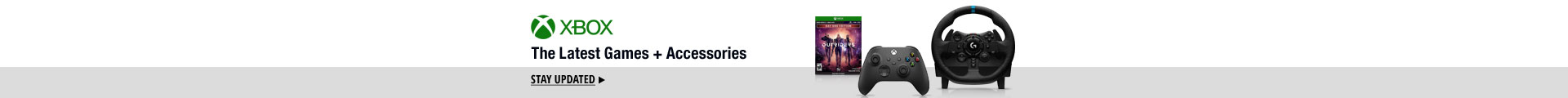 XBOX The Latest Games + Accessories