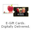 E-Gift Cards,Digitally Delivered
