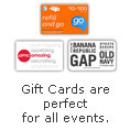 Gift Cards are Perfect