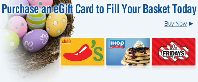 eGift Card To Fill Your Basket Today