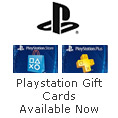 Playstation Gift Cards Available Now