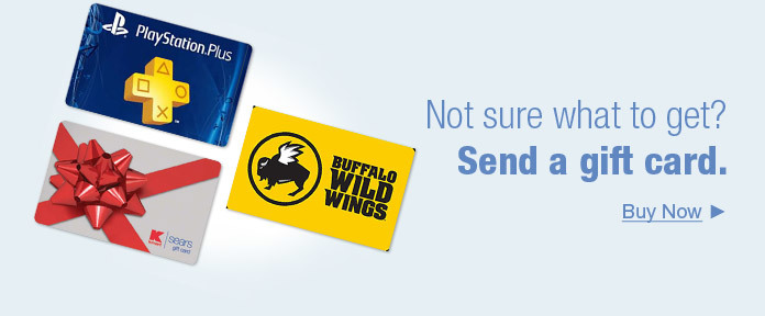 Not sure what to get? Send a gift card