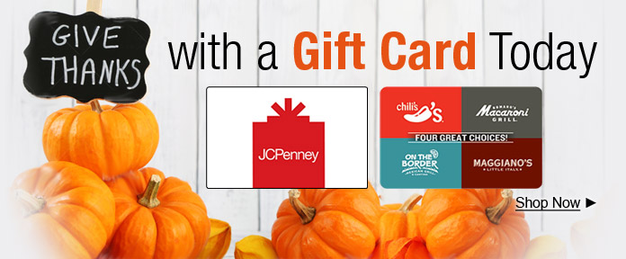Thanksgiving Gift Card