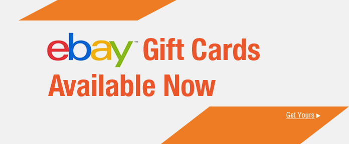 ebay Gift Cards Available Now