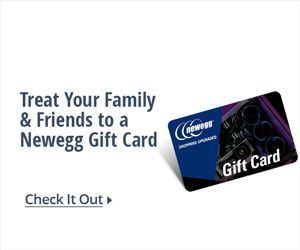 Treat your family & friends to Newegg gift card