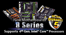 Gigabyte New Motherboards
