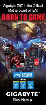 Gigabyte Z97 is the Official Motherboard of IEM