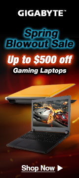 Spring blowout sale up to $500 off gaming Laptops
