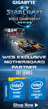 GIGABYTE , WCS EXCLUSIVE MOTHERBOARD PARTNER: