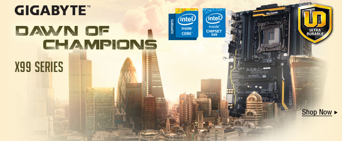 GIGABYTE™ Dawn of Champions X99 Series