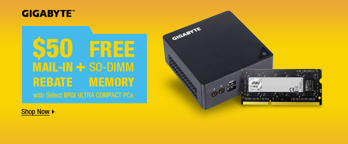 $50 free mail-in + so-DIMM rebate memory