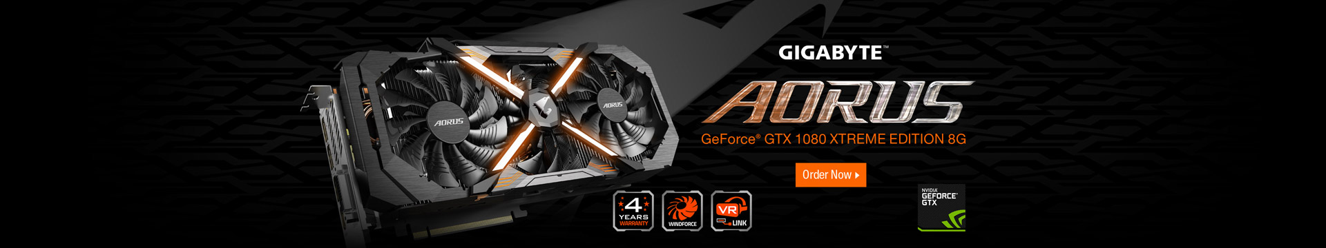 GeForce® GTX 1080 XTREME EDITION 8G
