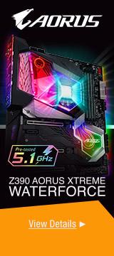 Z390 AORUS XTREME WATERFORCE