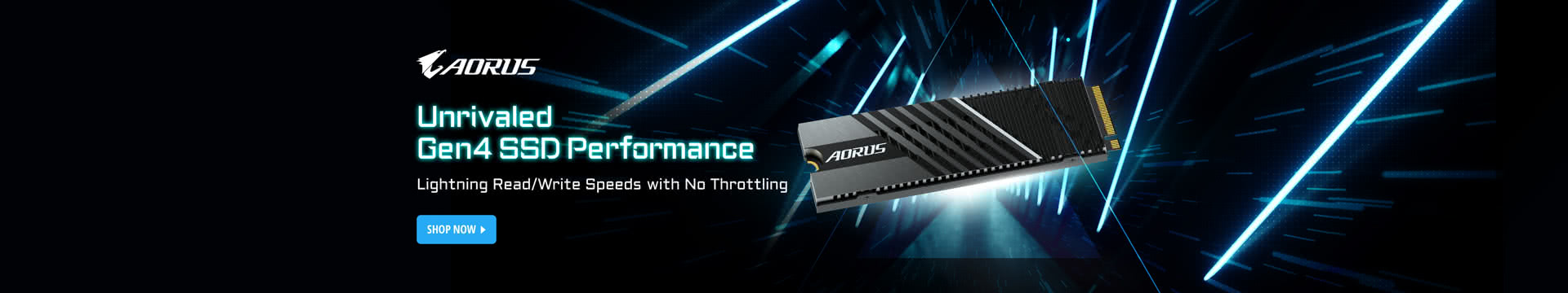 Unrivaled Gen4 SSD performance