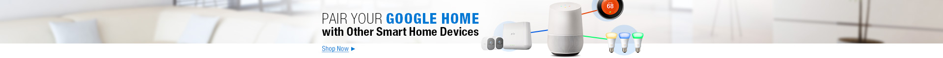 Google home with other smart home devices