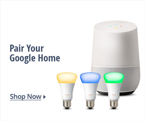 Pair your Google home