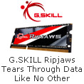 G.SKILL Ripjaws Tears Through Data Like No Other