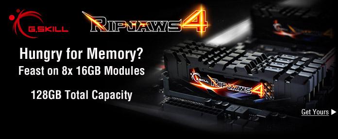 Ripjaws 4 DDR4 Memory